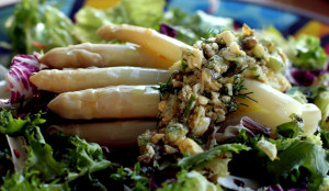szparagi gribiche