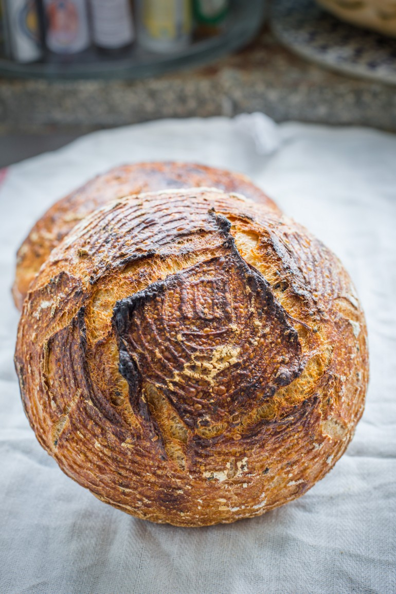 chleb na zakwasie s wtylu francuskim