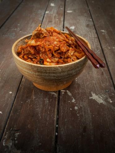 kimchi z młodej kapusty