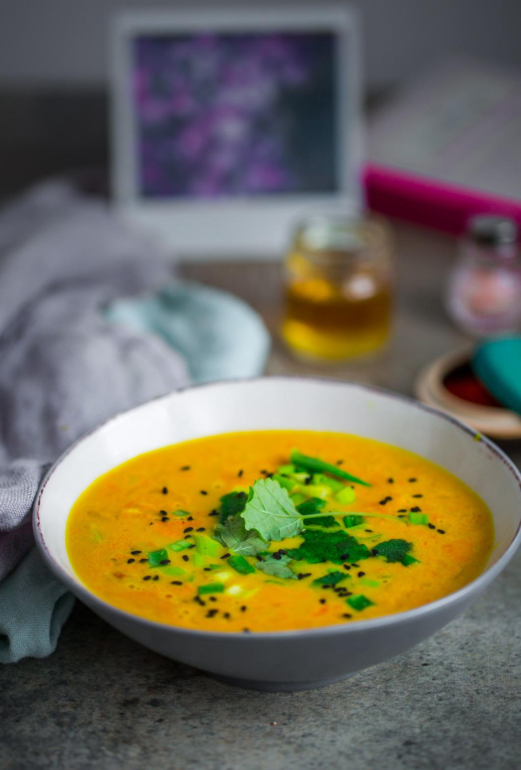 Zupa z trawą cytrynową
