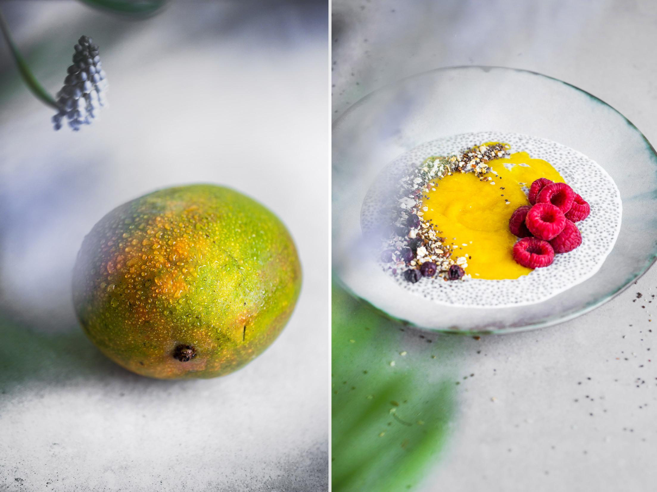Chia z mango