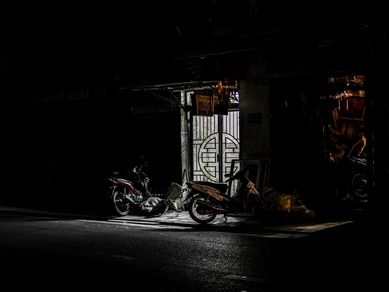 Hanoi nocą