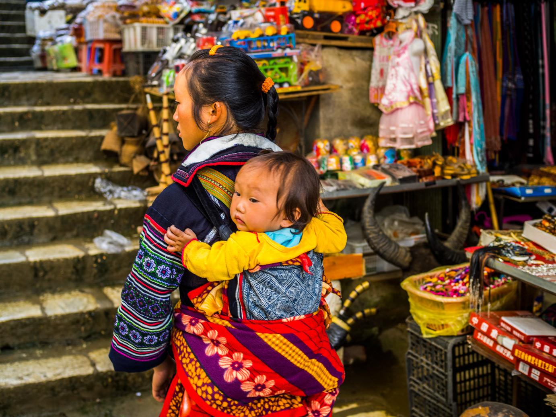 Kobiety z plemienia Hmong