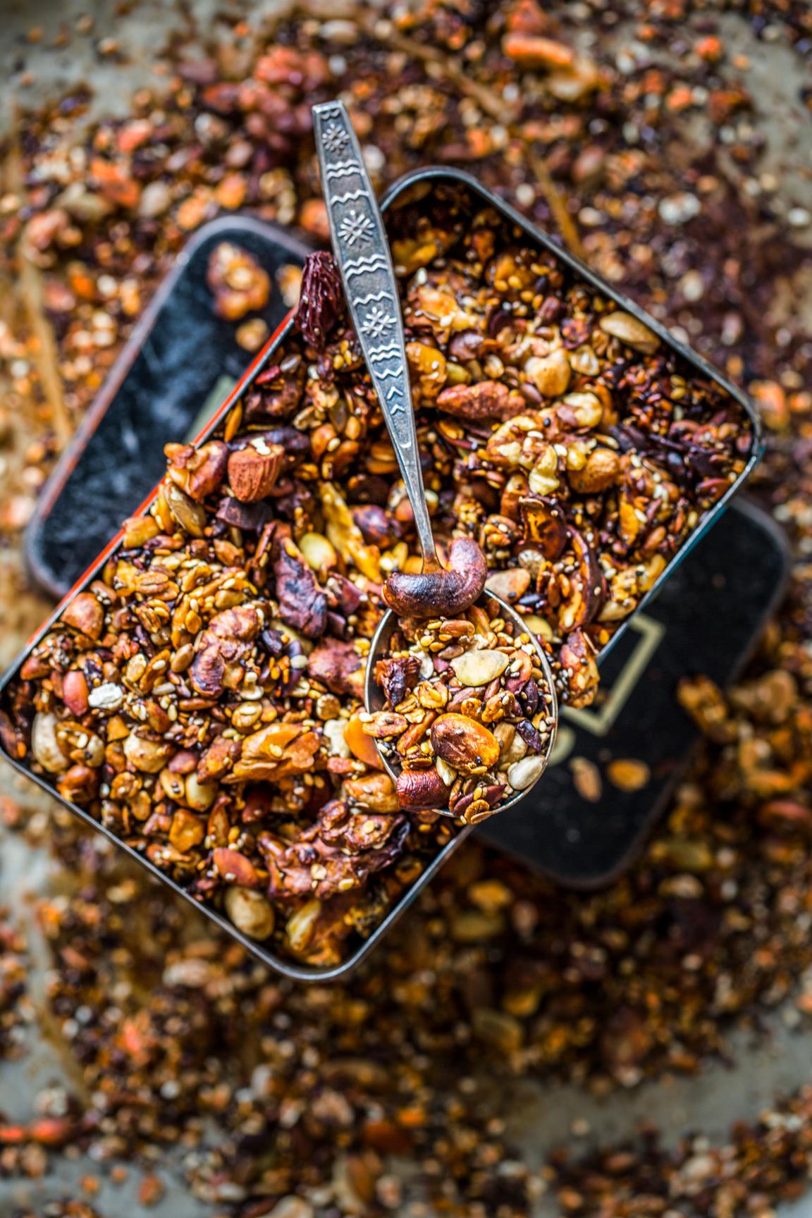 Wytrawna granola