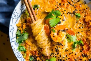Tajska zupa imbirowa