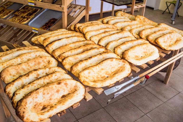 Gruzińskie chleby