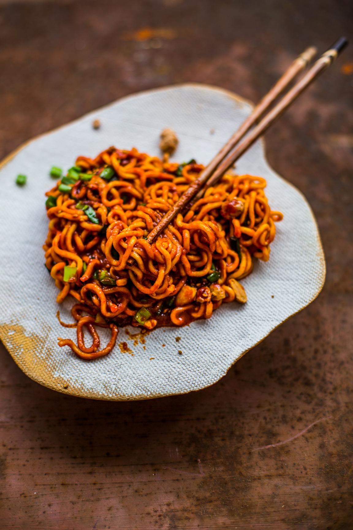 Noodle gochujang