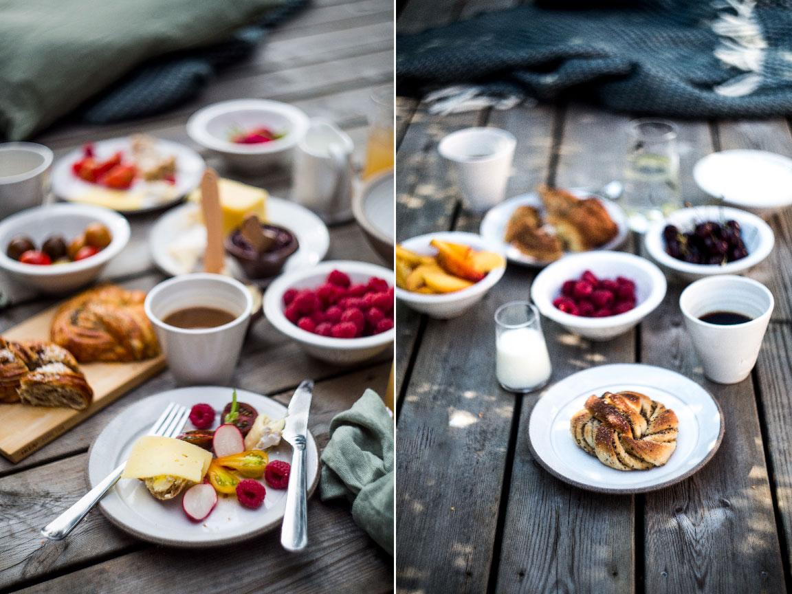 Śniadania na tarasie