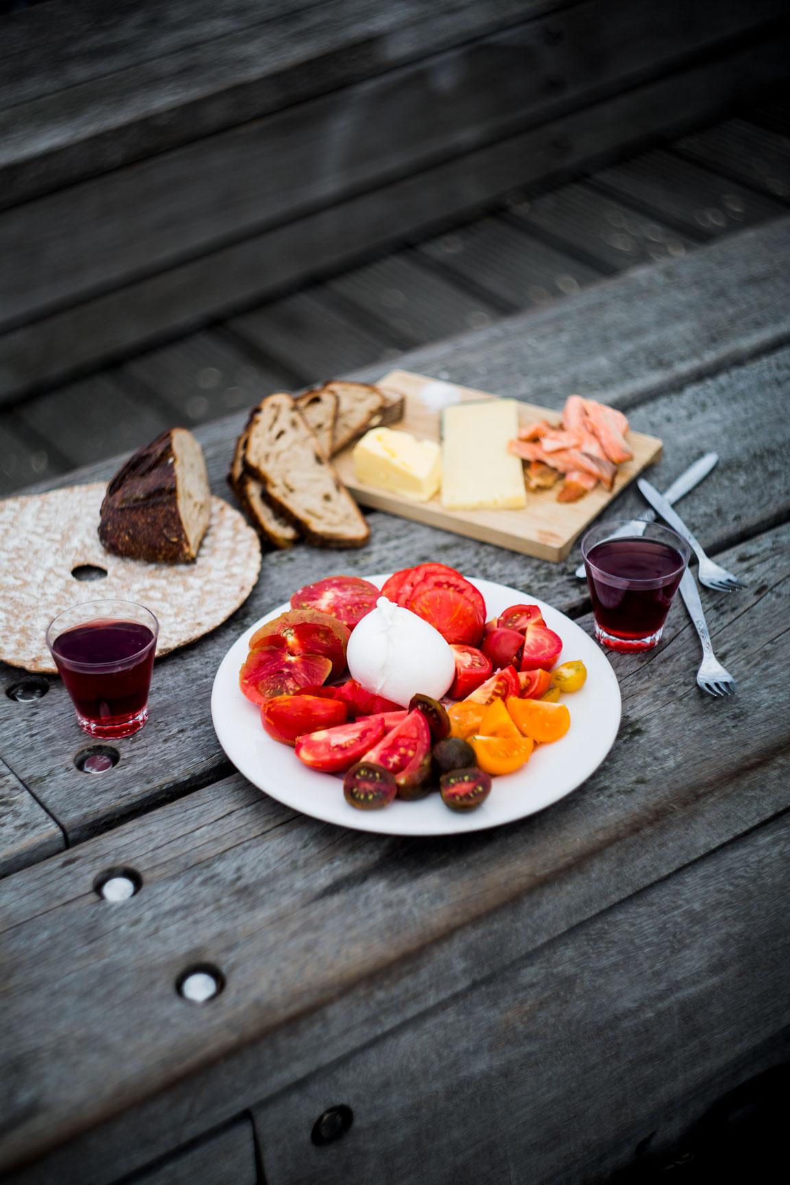 Piknik śniadaniowy
